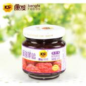 康发树莓果酱128g 20年出口品质保障 面包水果果酱