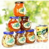 蔬菜罐头礼盒装批发 山东特产蔬菜蘑菇罐头