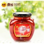 特产水果罐头批发 出口食品康发草莓罐头288g