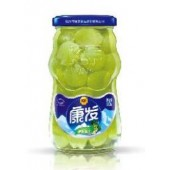 KF瓶550克葡萄罐头