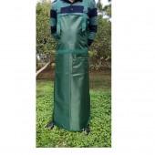 园林作业割草割灌油锯牛津布防污防护围裙 劳保围裙