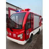 单排两座电动消防车(无级变速)巡逻车