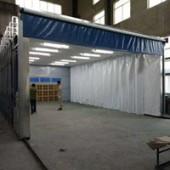 移动伸缩式喷漆房应用范围