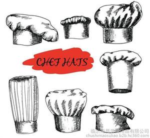 8酒店厨师帽8