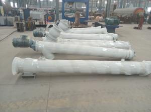管式螺旋输送机、可定制219-6m-60°输送机